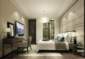 5-10万130平米三室两厅现代简约风格卧室装修图片大全