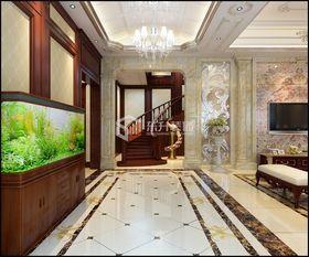 140平米复式混搭风格玄关欣赏图