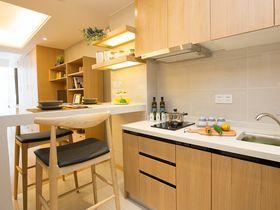 60平米一室一厅北欧风格厨房图片大全