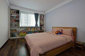 富裕型140平米三室两厅现代简约风格儿童房装修案例