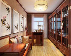 20万以上140平米四室两厅中式风格书房图片大全