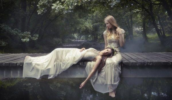 Gwendolynne婚纱系列大片 古典童话中的公主模样