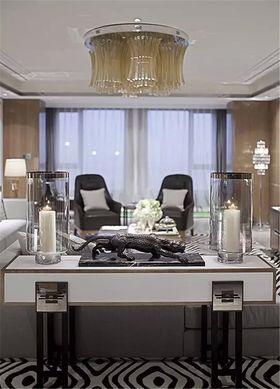 10-15万80平米三室两厅美式风格客厅效果图