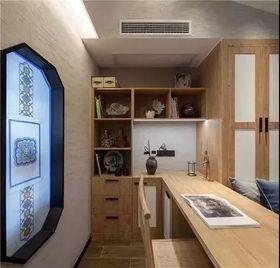 40平米小户型中式风格儿童房装修案例