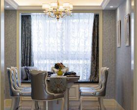 120平米三室两厅欧式风格餐厅效果图