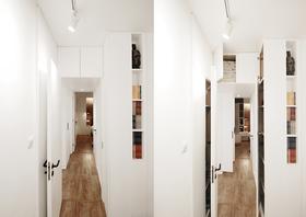 50平米小户型日式风格走廊图