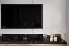 120平米三现代简约风格客厅装修案例