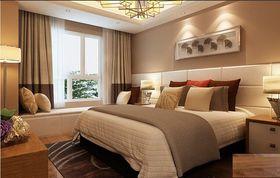 富裕型130平米三室两厅现代简约风格儿童房效果图