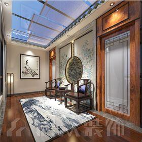 140平米別墅中式風格走廊裝修案例