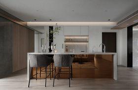 140平米三現代簡約風格廚房裝修案例