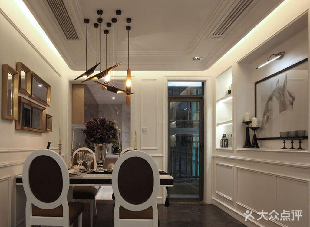 经济型90平米三室两厅欧式风格餐厅装修效果图
