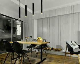 80平米三北欧风格餐厅装修图片大全
