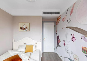 90平米三室两厅美式风格儿童房欣赏图