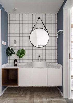 100平米三室一厅现代简约风格卫生间装修图片大全