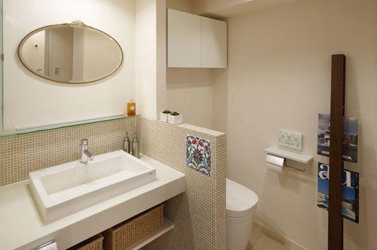 小空间多利用 看8个日本家庭的创意洗手间