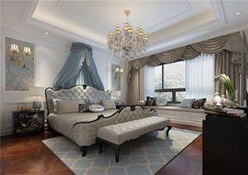110平米三室两厅欧式风格卧室图片