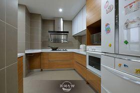 10-15万140平米三室两厅现代简约风格厨房装修案例