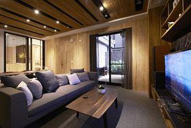 90平米三室一厅法式风格客厅图片大全