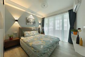 70平米北欧风格卧室图片大全