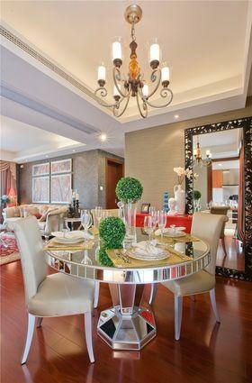 豪华型90平米三室两厅法式风格餐厅装修案例