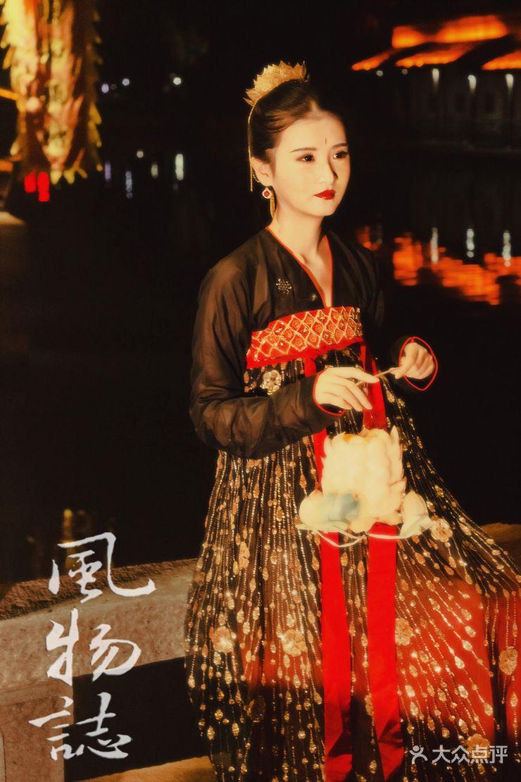 【古风汉服美妆造型-跟妆-结婚套餐】-manman钱·彩妆图片