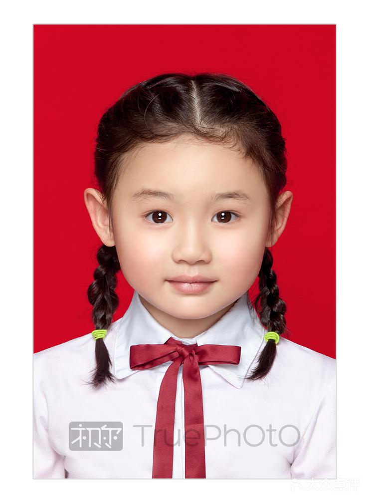 儿童证件照 kids id photo