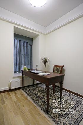 90平米三室两厅中式风格书房欣赏图