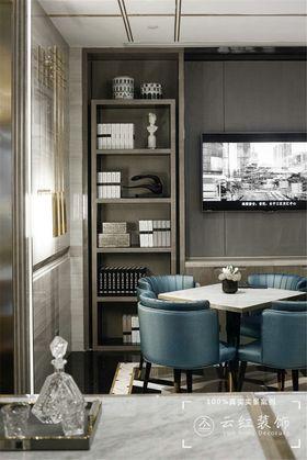 120平米复式现代简约风格阳光房设计图