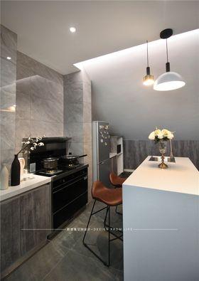 80平米公寓现代简约风格餐厅图片