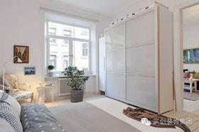 5-10万70平米北欧风格卧室设计图