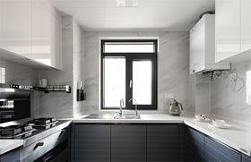 130平米三现代简约风格厨房图