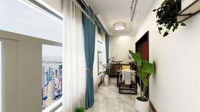 140平米三中式风格阳台装修案例