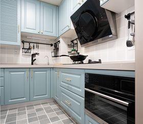 140平米三室一厅美式风格厨房设计图