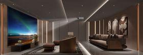 140平米別墅現代簡約風格影音室裝修圖片大全