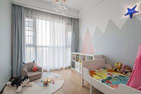 120平米三室一厅现代简约风格儿童房图片