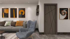140平米三室兩廳現代簡約風格玄關效果圖