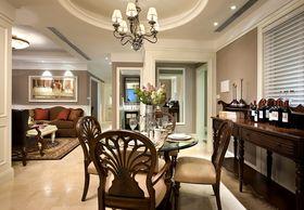 富裕型140平米四室两厅美式风格餐厅设计图