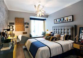 110平米三室一厅现代简约风格卧室图片大全