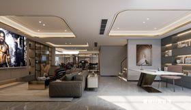 140平米复式现代简约风格走廊设计图
