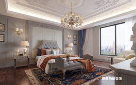 140平米复式欧式风格卧室装修图片大全