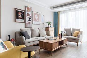 50平米一居室北欧风格客厅欣赏图