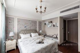 120平米三室两厅美式风格卧室装修效果图