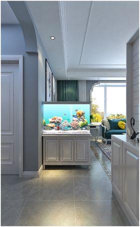 140平米三室两厅地中海风格玄关装修图片大全