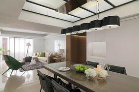 10-15万120平米三室两厅现代简约风格餐厅装修案例