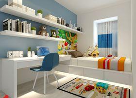 100平米三室两厅中式风格儿童房装修效果图