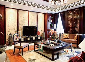 豪华型140平米四室两厅中式风格客厅装修图片大全