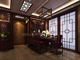 100平米中式风格餐厅效果图