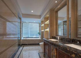130平米三室两厅日式风格卫生间装修图片大全