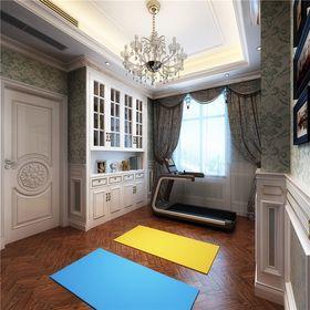 140平米复式欧式风格健身室装修图片大全