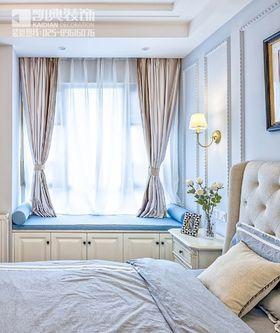 120平米三室兩廳現代簡約風格臥室飄窗裝修案例